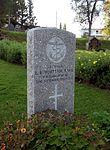 Commonwealth War Graves gravestone of L. B. Whittam in Tromsø.jpg