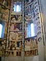 Como, basilica di sant'abbondio, cortile, interno, affreschi 05.JPG