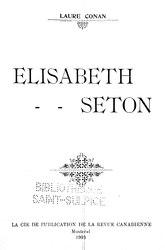 Laure Conan: Élisabeth Seton