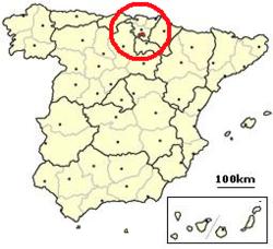 Condado De Treviño Mapa.Condado De Trevino Wikipedia