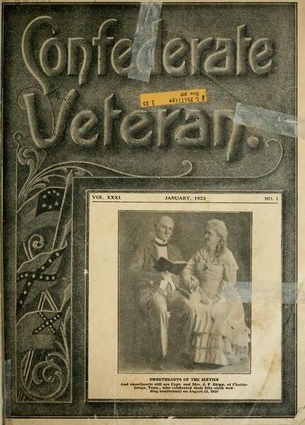 File:Confederate Veteran volume 31.djvu