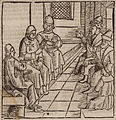 Conference between representatives of the Ottoman forces and of the Knights Hospitaller - Johannes Adelphus - 1513.jpg