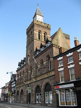 Congleton - Image: Congleton Town Hall