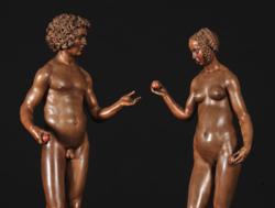 Conrad Meit - Adam und Eva, c. 1510-17 (detail).png