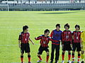 Consadole Sapporo Youth U-15, after the game, 20091227-03.jpg