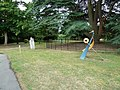 Contemporary Art Exhibition in Farnham Library Gardens (1) - geograph.org.uk - 1993072.jpg