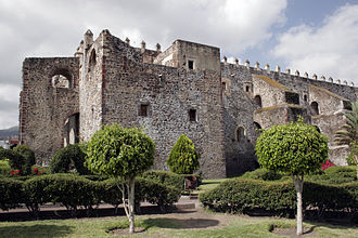Order of Saint Augustine - Monastery of San Agustin of Yuriria, Mexico, founded in 1550.