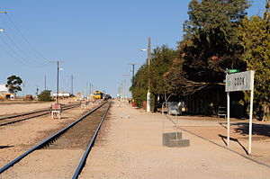 Cook, South Australia - Image: Cook Station South Aust 2012