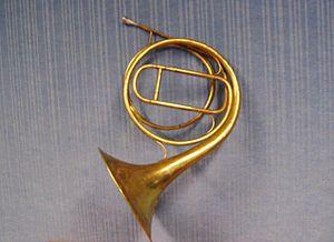 A natural horn.