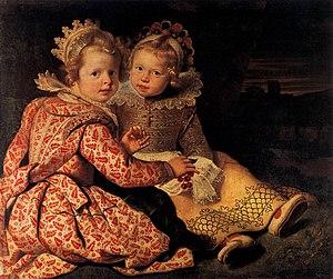 Cornelis de Vos - Magdalena and Jan-Baptist de Vos