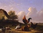 Cornelius Van Leemputten - Poultry in a landscape.jpg