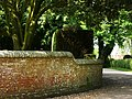 Corner of churchyard, Hinton Ampner - geograph.org.uk - 796386.jpg