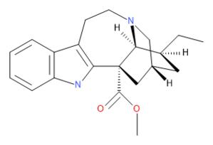 Coronaridine - Image: Coronaridine Stereo correct