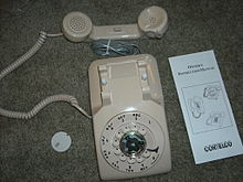 220px Cortelco_Model_500_Rotary_Phone model 500 telephone wikipedia Antique Phone Wiring Diagram at readyjetset.co