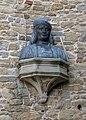 Cortona, san francesco, esterno, busto del signorelli 01.jpg