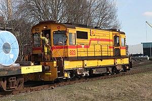 Corus trein 823 Tata Steel train