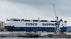 Cosco Shengshi (ship, 2011), Sète 02.jpg