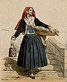 Costume des Eaux-Bonnes (Femme portant un panier et un seau) - Fonds Ancely - B315556101 A DEVERIA 007.jpg
