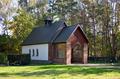 Cottbus-Kiekebusch, Neuer Friedhof (chapel).png