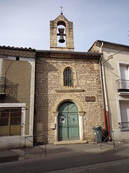 Cournonterral (Hérault) - chapelle des pénitents