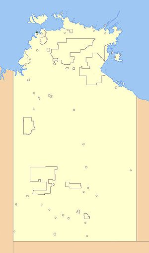 Wagait Shire - Location of Wagait Shire