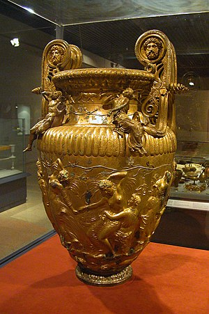 Dionysian Mysteries - The Derveni krater, height : 90.5 cm (35 ½ in.), 4th century BC
