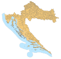 Croatia map municipalities.svg