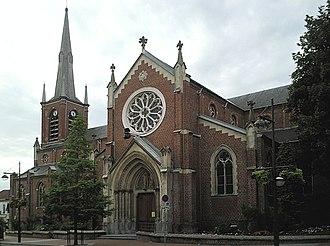 Croix, Nord - Image: Croix Eglise Saint Martin