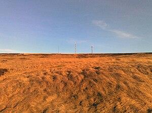 Crompton Moor - Crompton Moor towards its summit at Crow Knowl