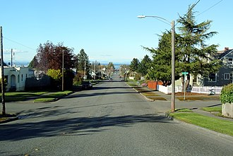 Port Angeles, Washington - Image: Crossroads in Port Angeles