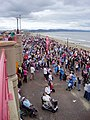 Crowds on the seafront at Rhyl for the Air Show - geograph.org.uk - 1571630.jpg