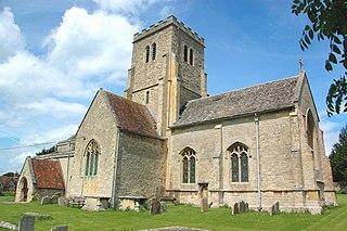 Cuddesdon village in United Kingdom
