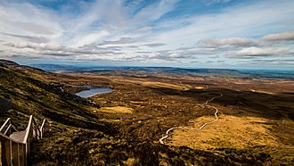 County Fermanagh - The Cuilcagh range, on the Cavan/Fermanagh border.