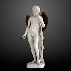 Cupid with golden wings-Louis Schroeder-RF 1116