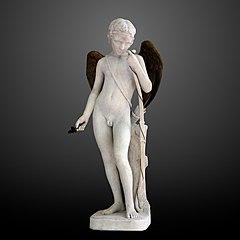 Cupidon aux ailes dorées