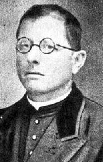 San Lorenzo de Almagro - Father Lorenzo Massa, honored by the founders giving his first name to the institution.