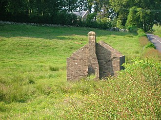 Curling house - The old curling house at Craigie in South Ayrshire.