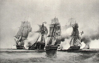 Naval battle of the French Revolutionary Wars