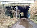 Cycleway under Stadium Road - geograph.org.uk - 1767529.jpg