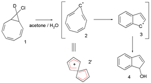 Möbius aromaticity - the cyclononatetraenyl cation