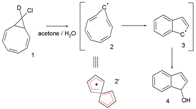 the cyclononatetraenyl cation