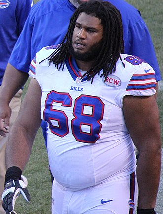 Cyril Richardson - Richardson with the Buffalo Bills in 2014