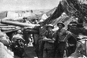 Czechoslovak government-in-exile - Czechoslovaks were fighting alongside Poles and Australians at Tobruk.