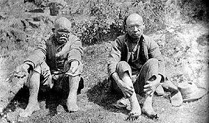 D'Arcy Island - Chinese lepers on D'Arcy Island in the 1890s