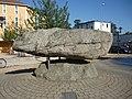Décines-Charpieu - Menhir de Montaberlet.JPG