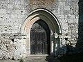Dénezé sous Lude - Abbaye de la Boissière - Chapelle - Portail.jpg