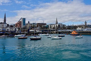 Dún Laoghaire County town of Dún Laoghaire–Rathdown and suburb of Dublin, Ireland