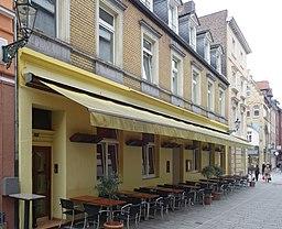 Wallstraße in Düsseldorf