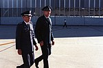 DF-SC-83-01523 GEN Namatame of Japan is greeted by GEN Lew Allen, Air Force chief of staff, upon his arrival.jpg