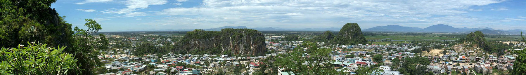 View from Marble Mountains